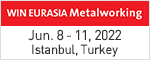 WIN EURASIA Metal Working  Mar. 12 - 15, 2020 Istanbul, Turkey