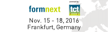 formnext Nov. 15 - 18, 2016 Frankfurt, Germany