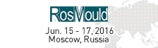 RosMould Jun. 15-17, 2016 Moscow,Russia